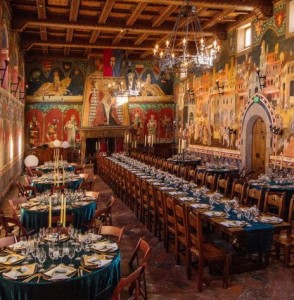 Castello di Amorosa hall